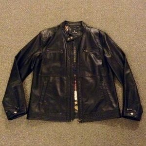 Other - Vintage Motorcycle Jacket - Faux Leather NWOT